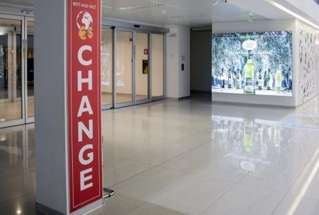 Ufficio cambio valuta Aeroporto