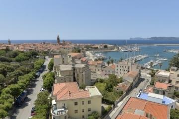 Panoramica aerea di Alghero